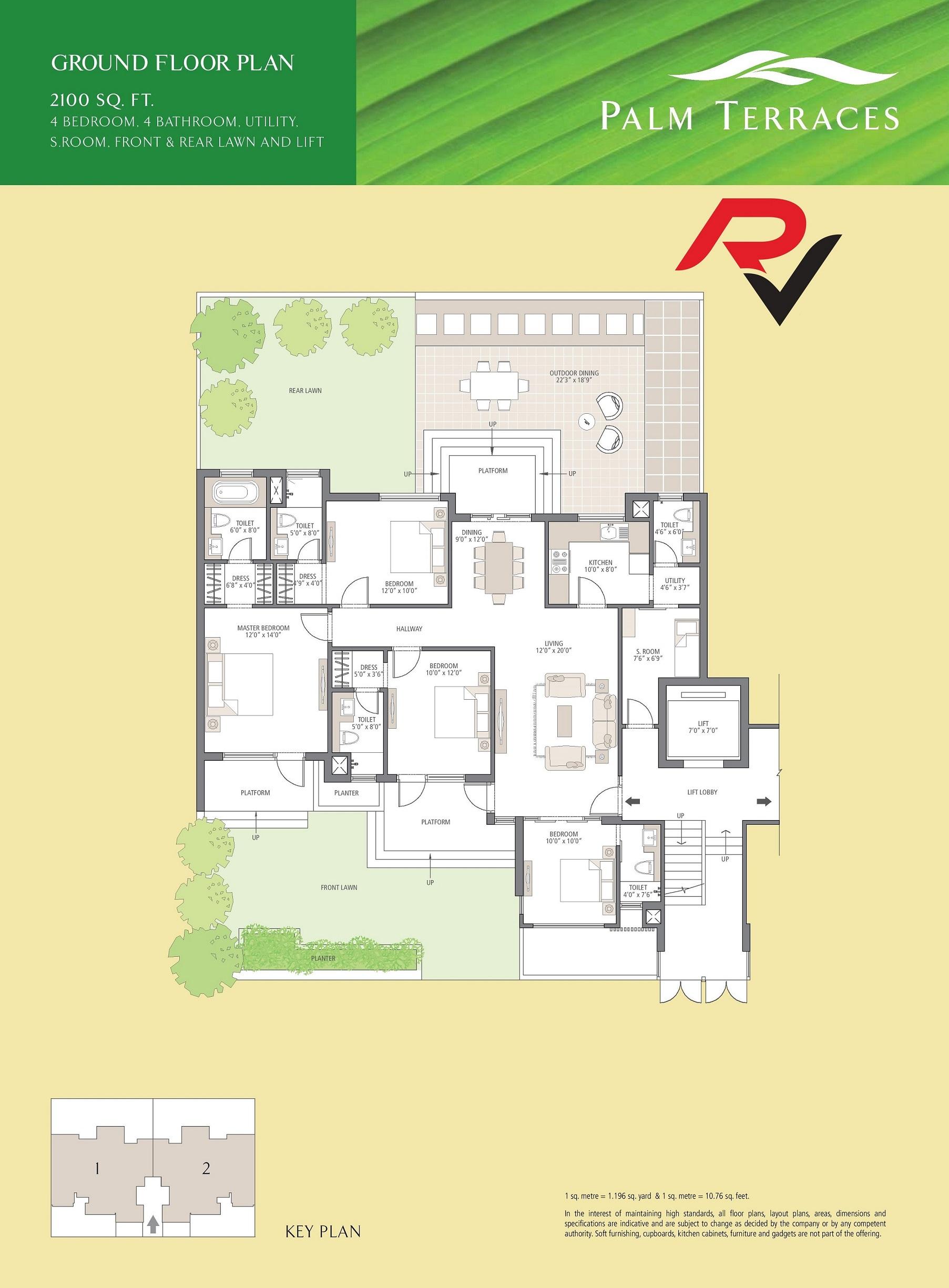 4Bhk Ground Floor