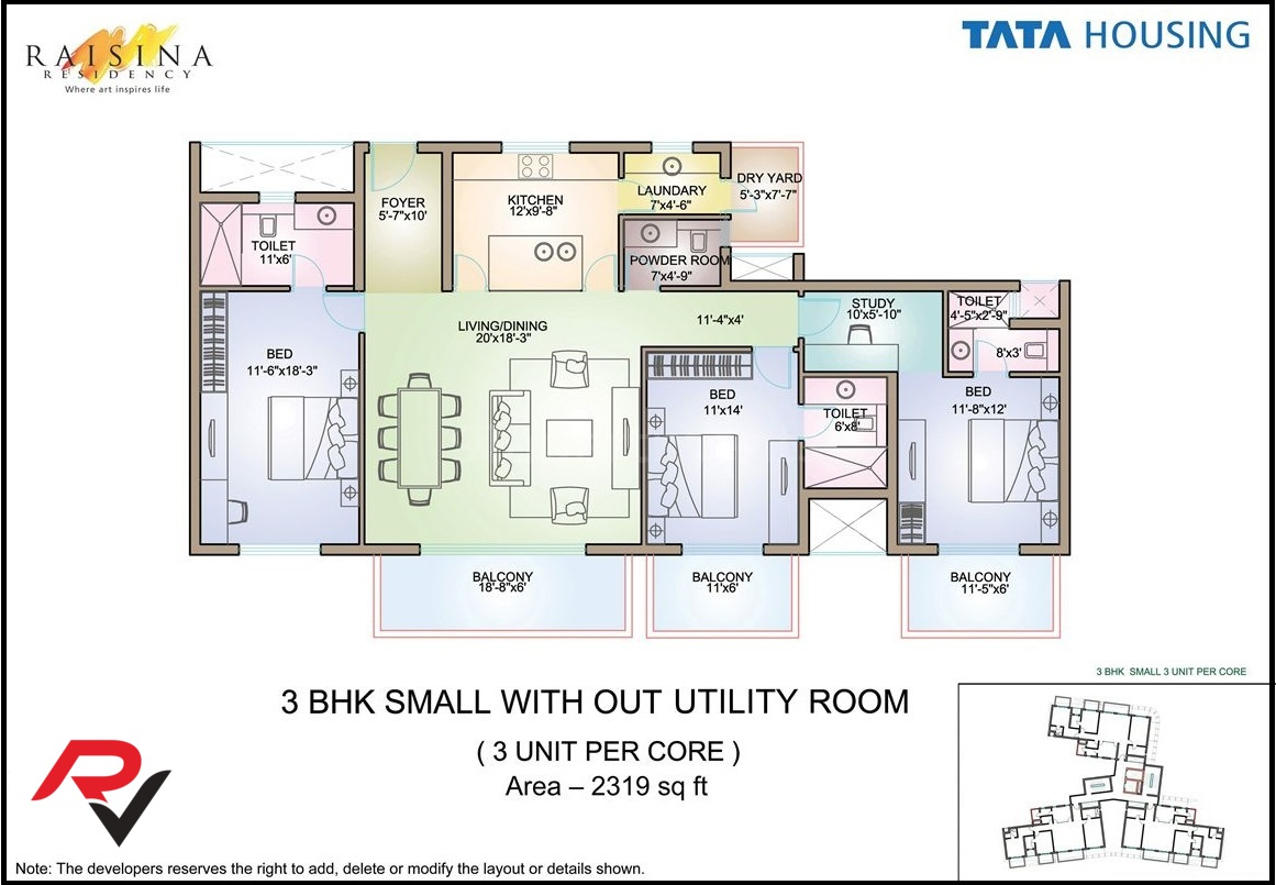 3Bhk Small