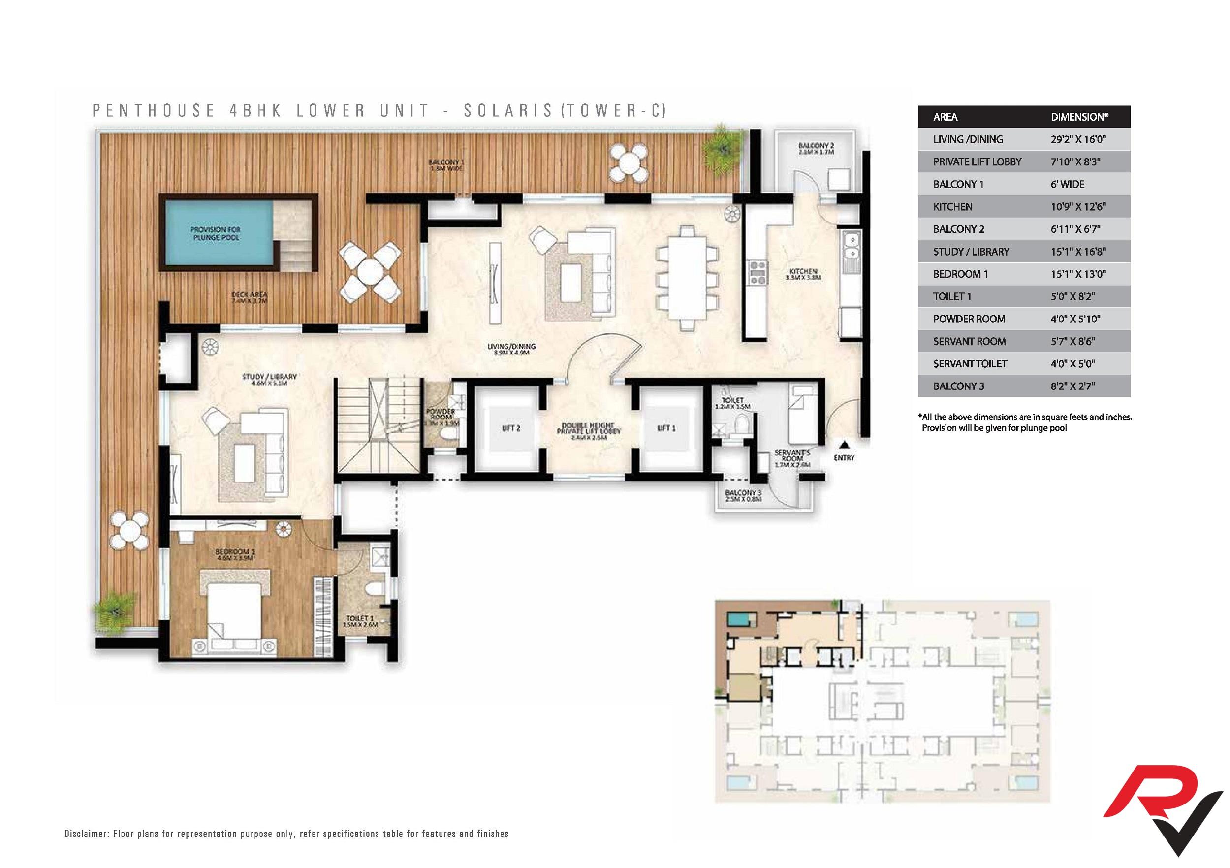 4Bhk Penthouse