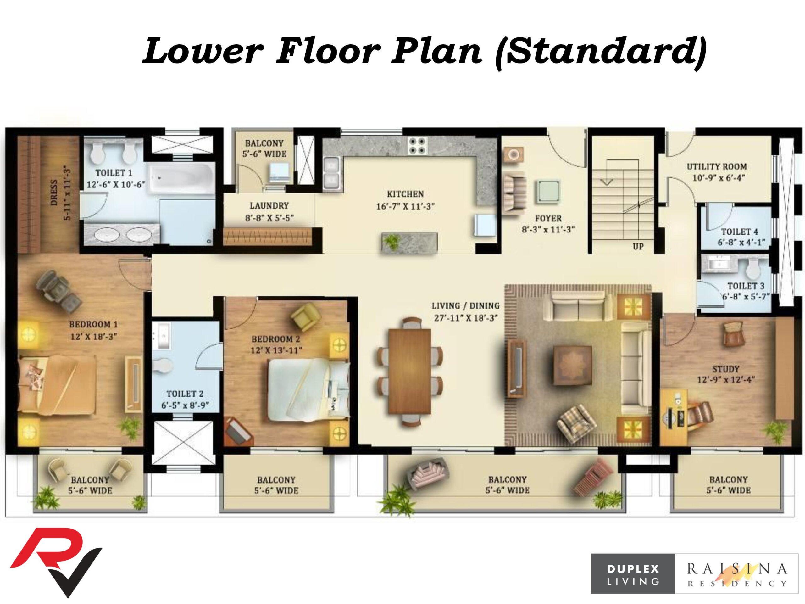 6Bhk Duplex (Standard)